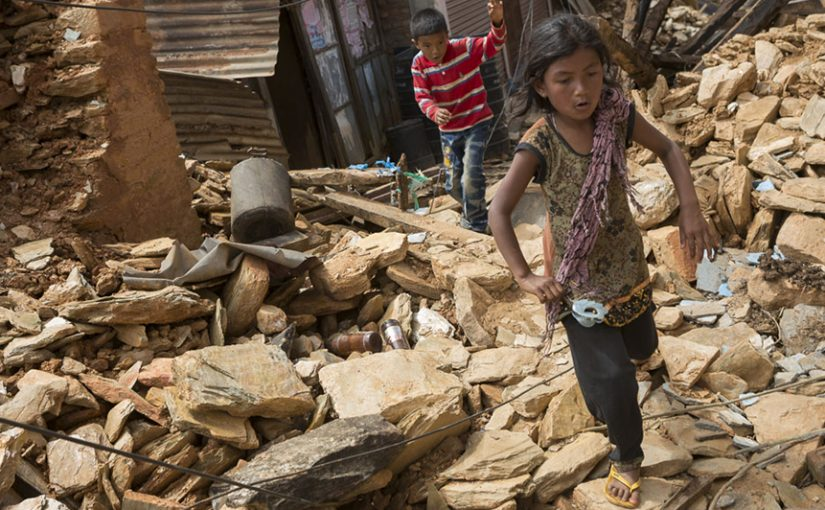 Member spotlight features ChildFund's response to the 2015 earthquake in Nepal