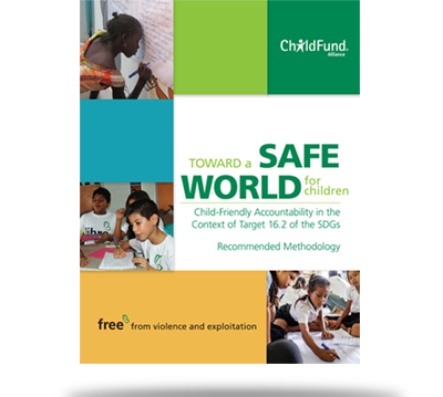 Working for and with children to create a safer world