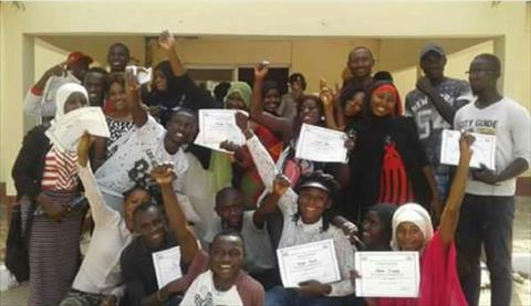 CF the Gambia alumni