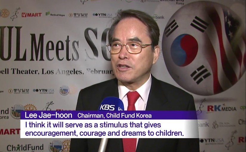 Je-Hoon Lee, President, ChildFund Korea