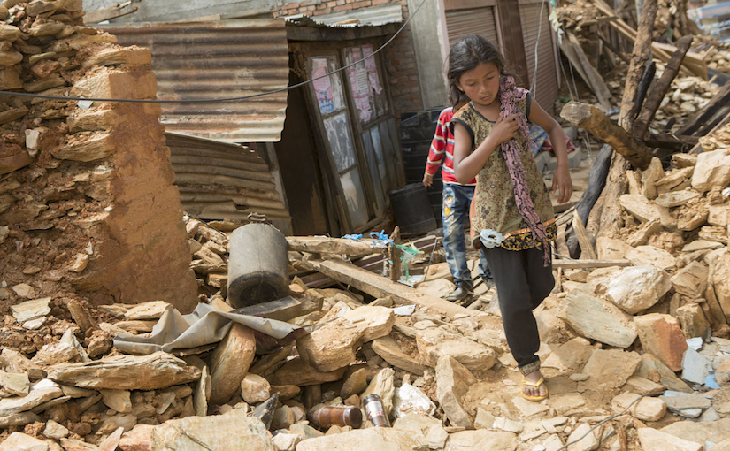 Going beyond immediate needs: A commitment to rebuilding after the Nepal earthquake