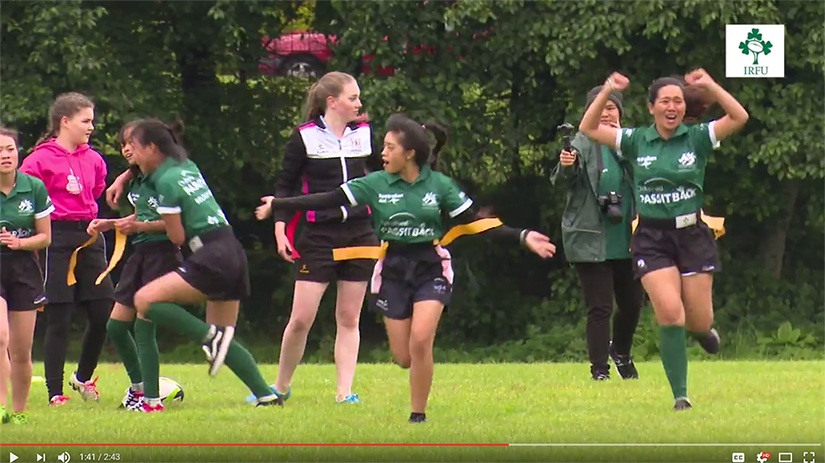 ChildFund 'Pass It Back' Belfast Cup Creates #WRWC2017 Memories