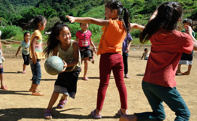 Giving female rugby players from Asia's poorest communities a once in a lifetime opportunity