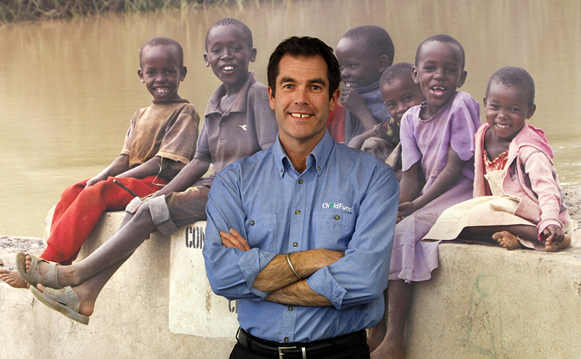 Paul Brown, CEO, ChildFund New Zealand
