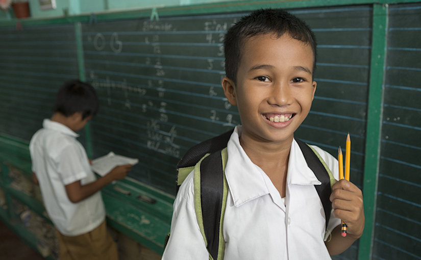 ChildFund and iCARE join forces to improve education for children in developing countries
