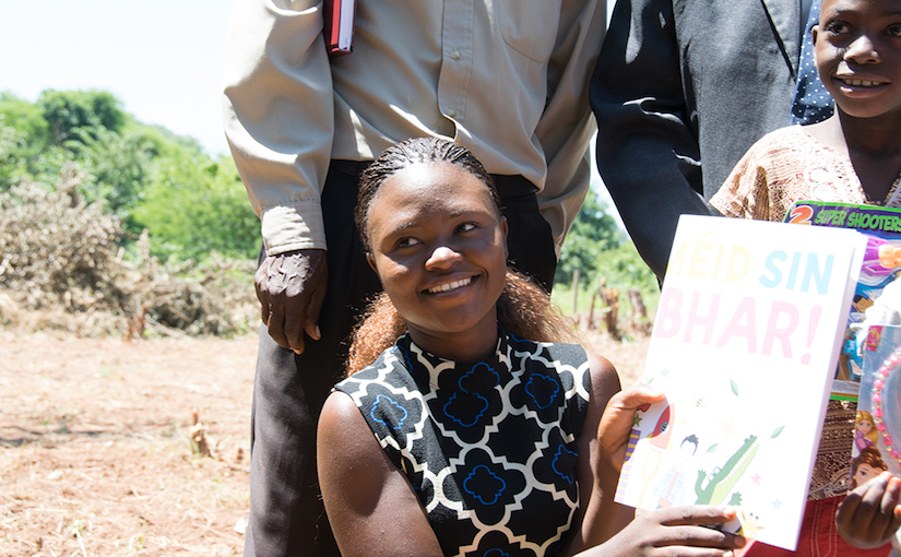 Misozi: Gearing up for her life as a teacher in Zambia