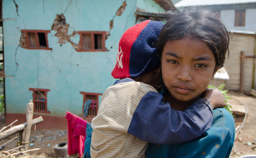 How is the global community protecting vulnerable children?
