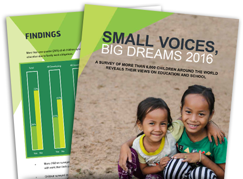 Small Voices, Big Dreams report