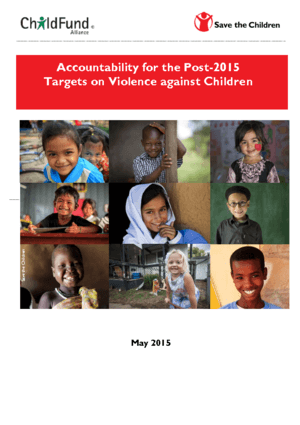 Accountability for the Post-2015 Targets on Violence against Children thumbnail