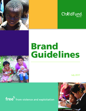 ChildFund Alliance Brand Guidelines thumbnail