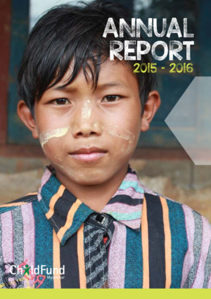 ChildFund Myanmar country report 2015/2016 thumbnail