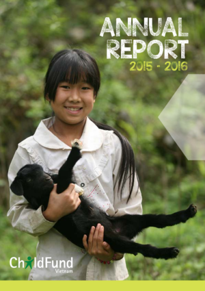 ChildFund Vietnam country report 2015/2016 thumbnail