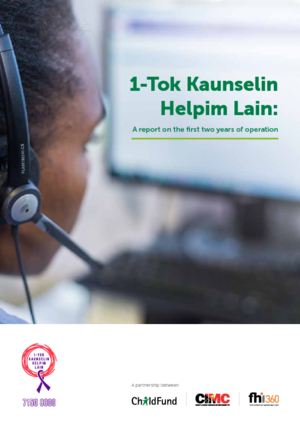 1-Tok Kaunselin Helpim Lain: A report on the first two years of operation in Papua New Guinea