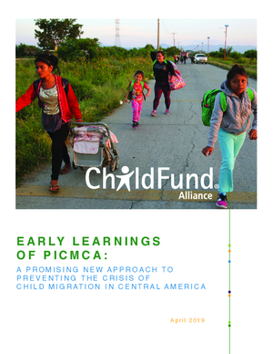 Early Learnings of PICMCA: A Promising New Approach to Preventing the Crisis of Child Migration in Central America thumbnail